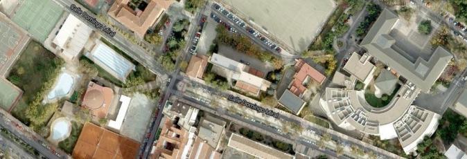 Imagen satelite del colegio